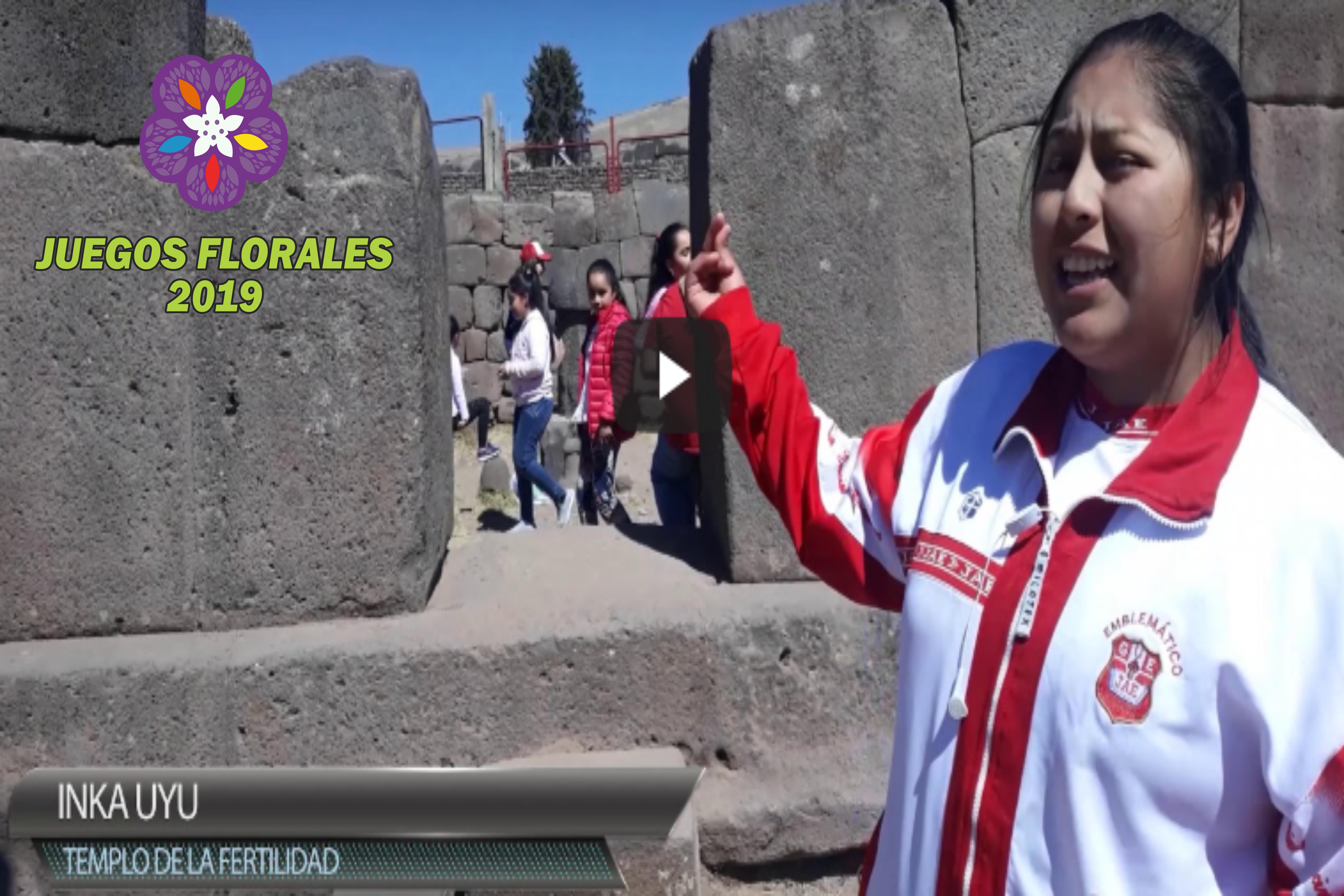 Conociendo Nuestra Región: Juegos Florales 2019